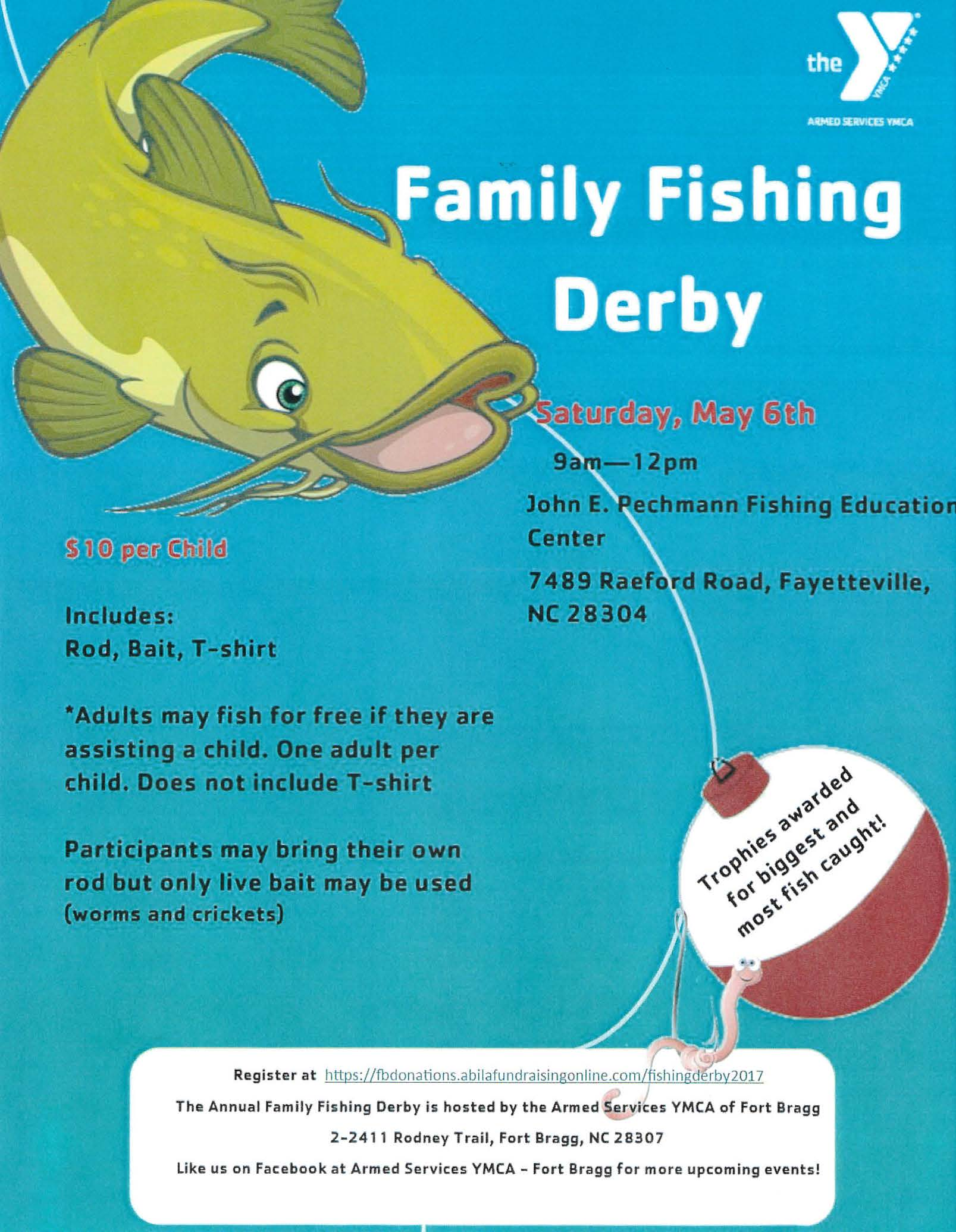ONUS employees to volunteer at ASYMCA Family Fishing Derby