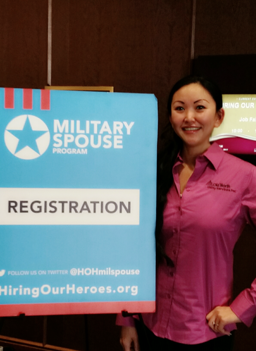 Old North Utility Services participates in Fort Bragg job fair