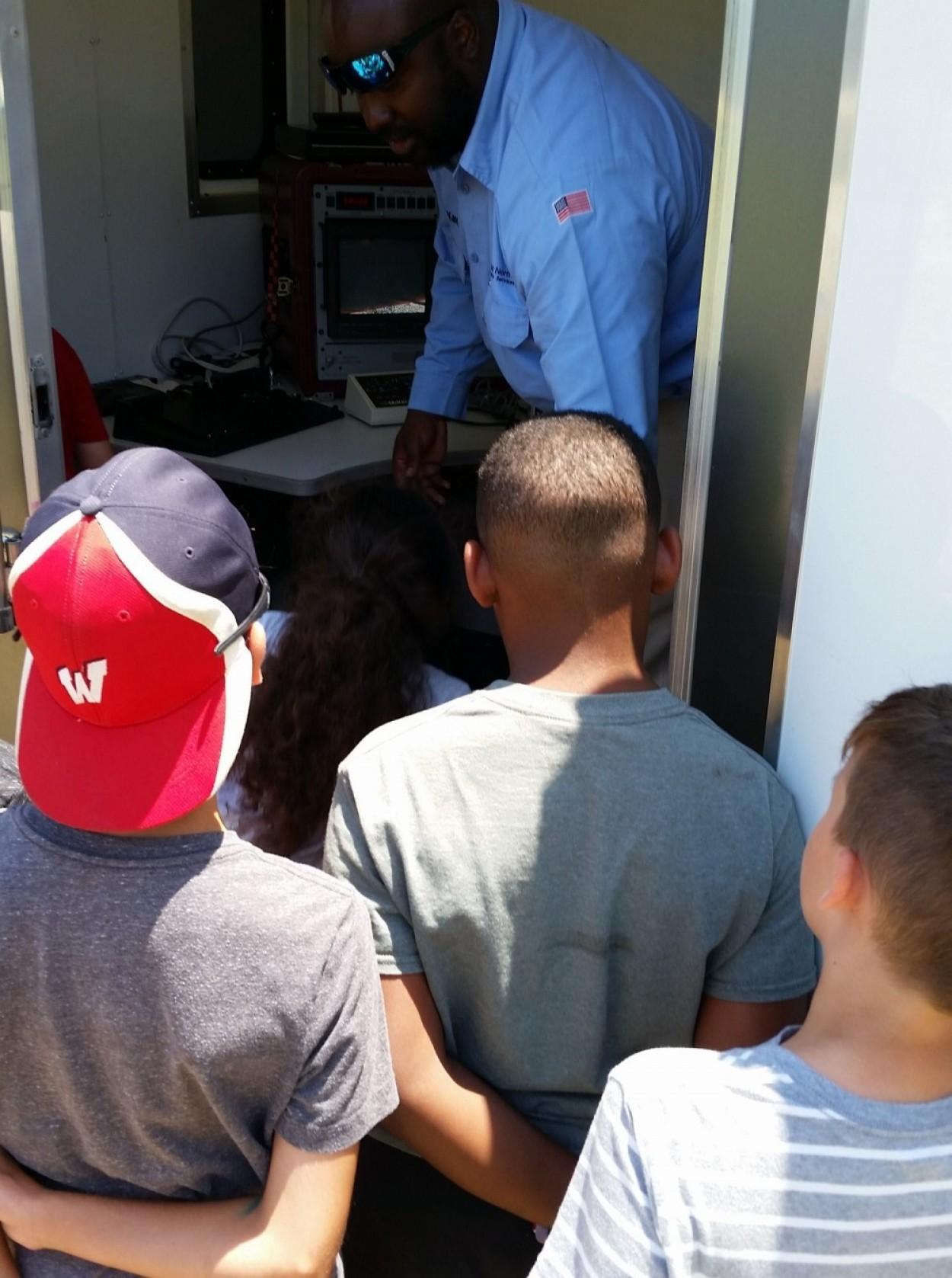 ONUS Participates in Fort Bragg ASYMCA Summer Camp