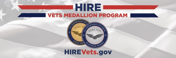 HIRE Vets Gold Medallion Award