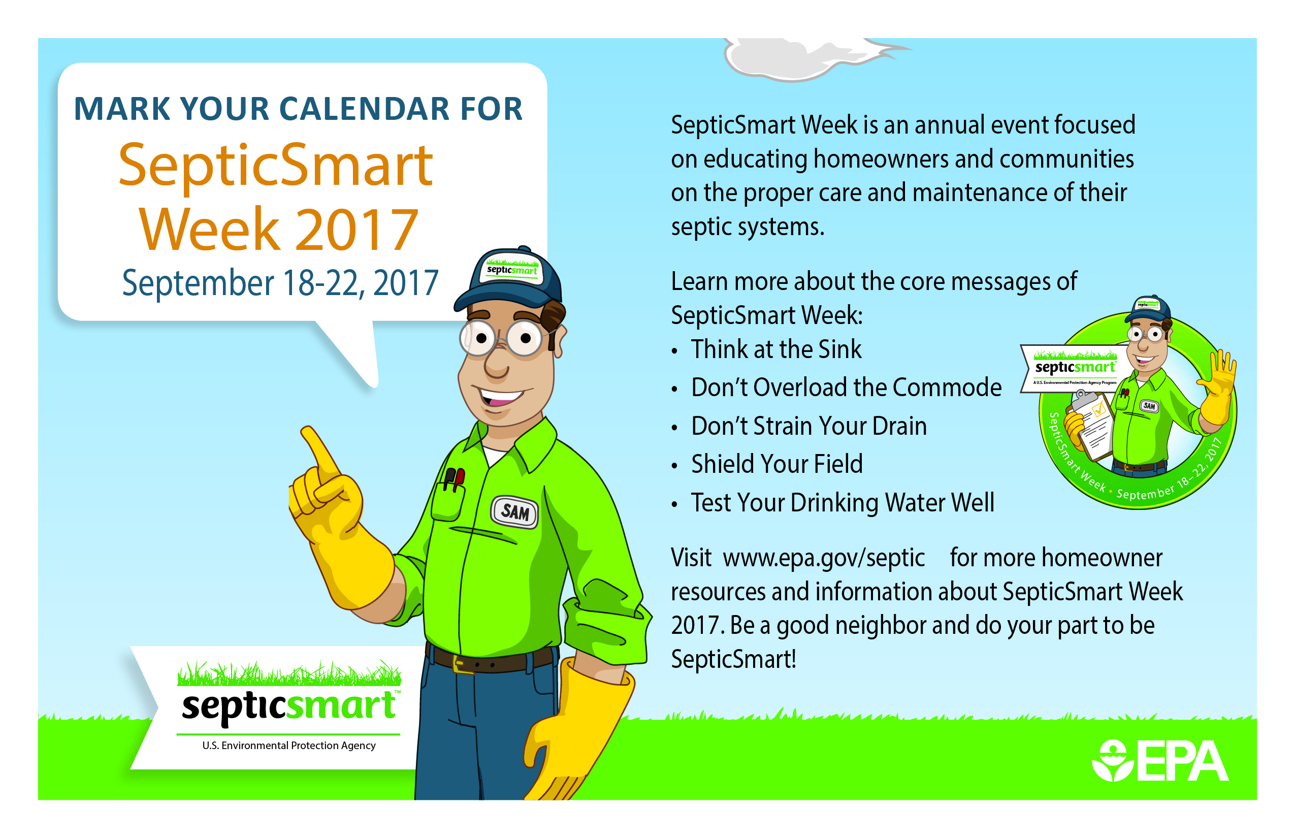 It's Septic Smart Week!